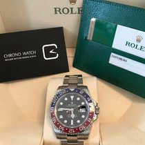 Rolex GMT-MASTER II White Gold Red & Blue Pepsi Bezel