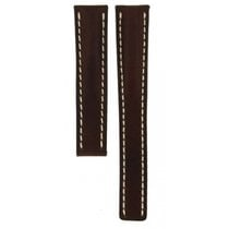 Breitling Brown Leather Strap For Deployment Buckles 417x...
