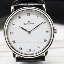 Μπλανπέν (Blancpain) 0021-1127-55 Villeret Ultra Slim SS White...