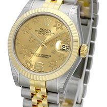 Rolex Datejust 31 / champagne floral