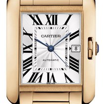 Cartier Tank Anglaise LARGE 18kt Rose Gold AUTHENTIC w5310002