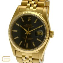 Rolex Datejust 18K.Gold Ref.16018