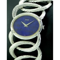 Piaget | Rare Vintage Lady In 18kt White Gold, Lapis Dial