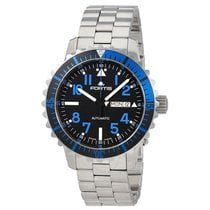 Fortis Marine Master Black DIal Automatic Men's Watch