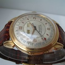 Movado Calendomatic 18 Kt Solid Gold YEAR 1950s