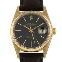 Rolex Datejust en or jaune Ref : 16018 Vers 1960