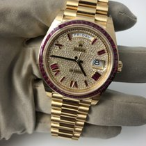 Rolex Day Date 40mm Yellow Gold Ruby Limited Edition 228398TRU