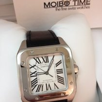 Cartier W20106X8 Santos 100 Medium Size Automatic [NEW]