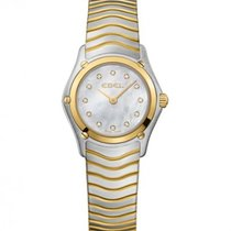 Ebel Classic Yellow Gold Steel Case, Mother Of Pearl Dial