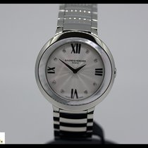 Baume & Mercier Promesse steel quartz, mother of pearl and...