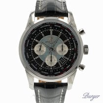 Breitling Transocean Chronograph Unitime NEW
