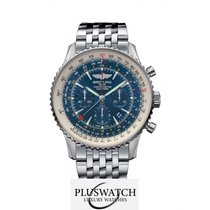 ブライトリング (Breitling) Navitimer GMT Aurora Blue Limited Edition/...