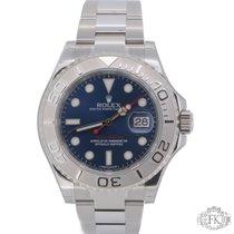 롤렉스 (Rolex) Yacht-Master 40mm Steel | Blue Dial | Platinum Bezel