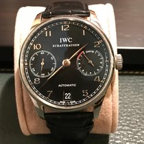IWC Portugieser 7 Days Automatic Black Dial
