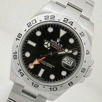 Rolex Explorer Ii 216570 Mens Stainless Steel Oyster 24hr...