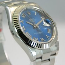 Rolex DateJust 2 II Stainless Steel Blue Roman Dial-116334