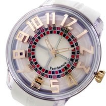 Tendence キングドーム KINGDOME クオーツ メンズ 腕時計 TY023003 ホワイト 日本国内正規