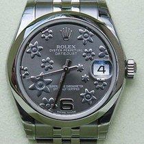 Rolex Datejust Ladies Stainless Steel Midsize New Watch 2011...
