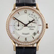 Zenith Elite Class Reserve de Marche, Mens, 18K Rose Gold,...