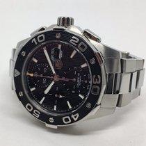 TAG Heuer Aquaracer 500m Automatik Chronograph, schwarz...