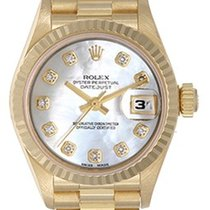 Rolex Ladies Rolex President Automatic Watch Mother of Pearl...
