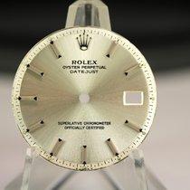 Rolex Zifferblatt für OP Datejust silber Index