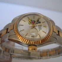 Rolex Oyster Perpetual Date Mickey Mouse Lady Acc&Oro 18 Kt