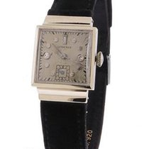 Longines Diamond Art Deco Watch - Mens/ Womans - 14k White...