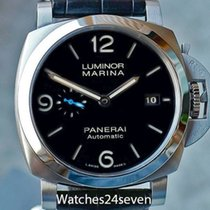 Panerai PAM 1312 Luminor Marina 1950 3 Days Auto Acciaio, Blue...