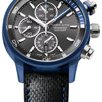 Maurice Lacroix Pontos S Extreme Chronograph, Date, Blue Steel...