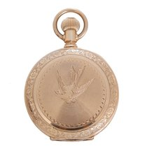 Elgin Vintage Gold Filled Pocket Watch Ref 113