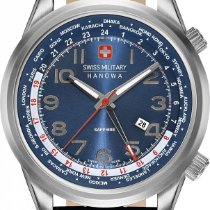 Hanowa Swiss Military WORLDTIMER 06-4293.04.003 Herrenarmbandu...