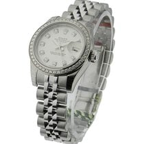 Rolex Unworn 179384 Ladies Datejust 26mm in Steel with Diamond...