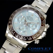 Rolex Daytona ice blue diamond PT Ref116506