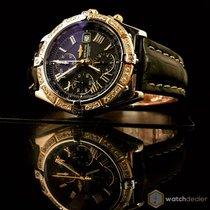 브라이틀링 (Breitling) Crosswind Gold/Steel Diamonds D13355