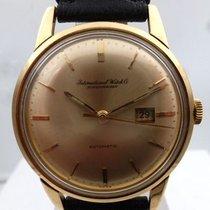 IWC vintage automatic date gold 18kts mvt pelaton cal 8531