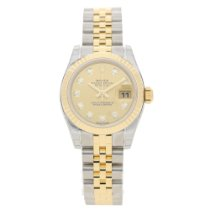 Rolex Datejust 179173 - Champagne Diamond Dial - 2016 Unworn