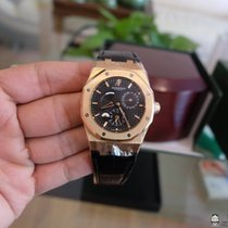 Audemars Piguet royal oak dual time rose gold size 39 mm