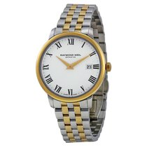 Raymond Weil Toccata White Dial SS Quartz Men's Watch...