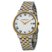 Raymond Weil Toccata White Dial SS Quartz Men's Watch...
