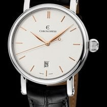 Chronoswiss Sirius Automatic Steel- Silver Dial 40mm CH28931