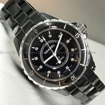 Chanel - J12 H1626 Black Dial Ceramic