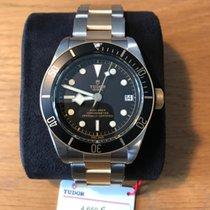 Τούντορ (Tudor) Heritage Black Bay Stahl/Gold LC 100 Full Set