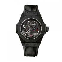 Hublot Big Bang MECA-10 Automatic Ceramic Black Dial Unisex...