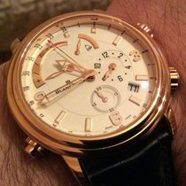 Blancpain LÉMAN RÉVEIL GMT RED GOLD AND WHITE DIAL