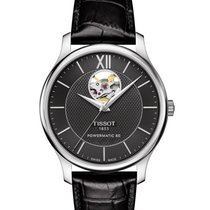 Tissot Herrenuhr Tradition, Powermatic 80, T063.907.16.058.00