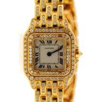 Cartier Panther Factory Diamonds 18K Yellow Gold