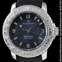 Blancpain Fifty Fathoms 18k White Gold 2200-1540