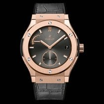 Hublot Classic Fusion Racing Grey Power Reserve King Gold