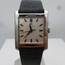Omega vintage 1960 square auto steel ref 3999.2 SC SF cal 571